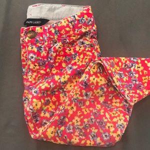 Ralph Lauren skinny leg Corduroy Pants